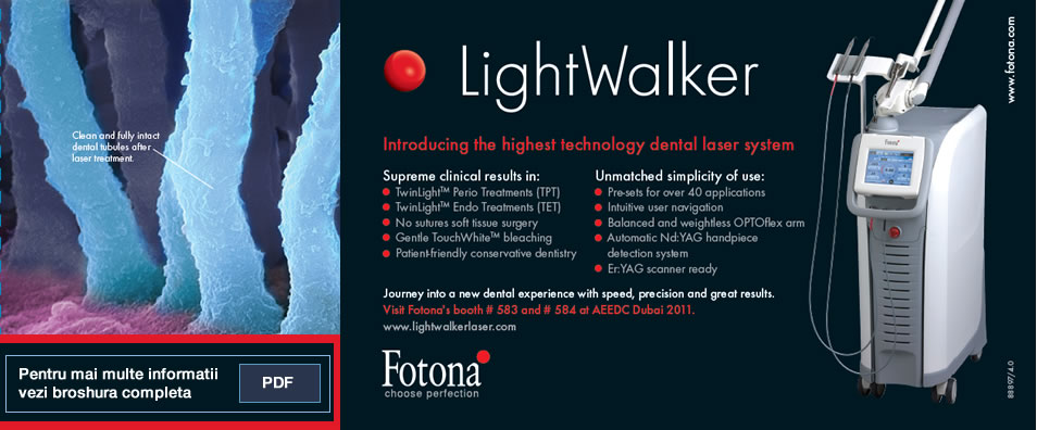 Light Walker Hard and Soft Tissue - Dental Lasers